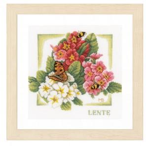 Spring Набор для вышивания LanArte PN-0162302