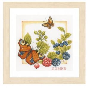 Summer Набор для вышивания LanArte PN-0162303