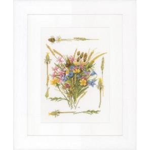 Field bouquet Набор для вышивания LanArte PN-0148165