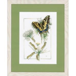 From Caterpillar to Butterfly Набор для вышивания LanArte PN-0021620
