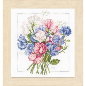 Colourful bouquet Набор для вышивания LanArte PN-0157497