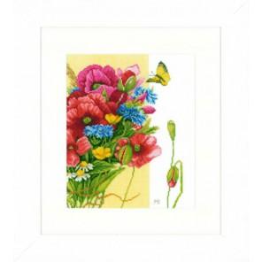 Poppies Набор для вышивания LanArte PN-0144524