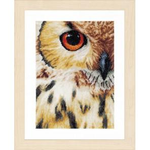 Owl Набор для вышивания LanArte PN-0157518