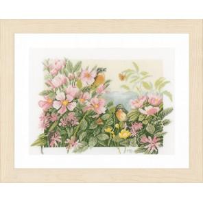 Birds & roses Набор для вышивания LanArte PN-0157494