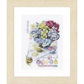 Hortensia Набор для вышивания LanArte PN-0154328