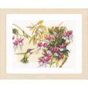 Colibri & flowers Набор для вышивания LanArte