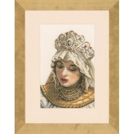 RUSSIAN LADY Набор для вышивания LanArte PN-0021204