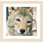 Wolf Набор для вышивания LanArte PN-0166758