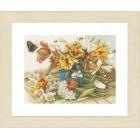 Daffodils-Tulips Набор для вышивания LanArte PN-0154324