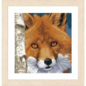 Fox Набор для вышивания LanArte PN-0168618