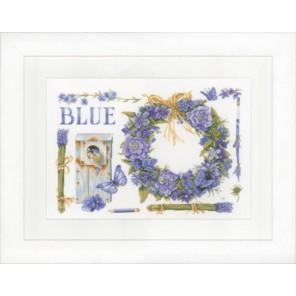 Lavender Wreath Набор для вышивания LanArte PN-0149993