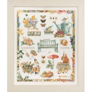 M.B. Collage Набор для вышивания LanArte PN-0007961