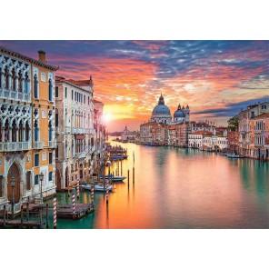 /Венеция на закате пазлы
