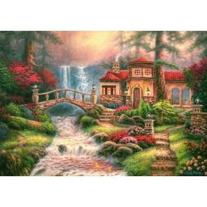 Дом у водопада Пазлы Castorland B52202