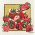 Дары садов Клубника Набор для вышивания Овен