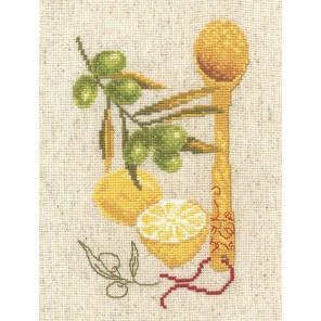 Кухонная миниатюра №3 Набор для вышивания Овен