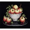 Яблоки в вазе Набор для вышивания Овен