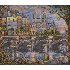 Франция. На берегу Сены Набор для вышивания Овен