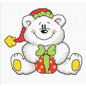 Новогодний Мишка Набор для вышивания Овен