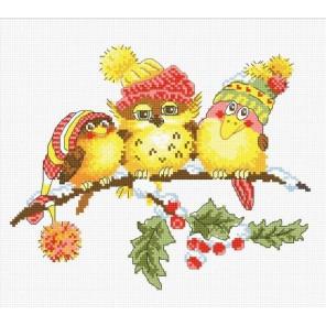 Новогоднее трио Набор для вышивания Овен