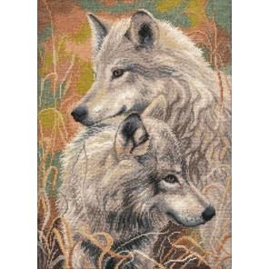 Волчья верность Набор для вышивания Овен