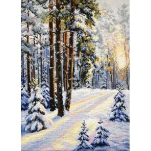 Зимняя дорога Набор для вышивания Овен