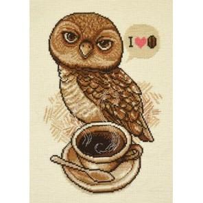 Любительница кофе Набор для вышивания Овен