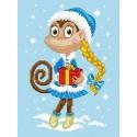 Снегурочка Набор для вышивания Овен