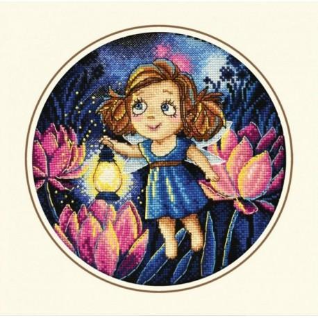 Алиса и светлячки Набор для вышивания Овен