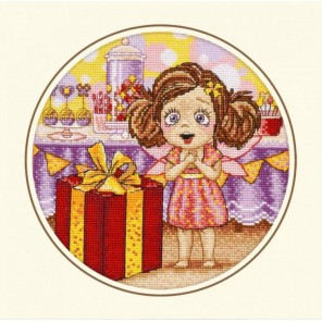 День рождения Алисы Набор для вышивания Овен