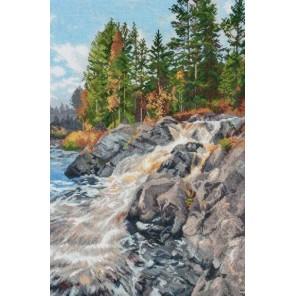 Водопад Ахвенкоски Набор для вышивания Овен