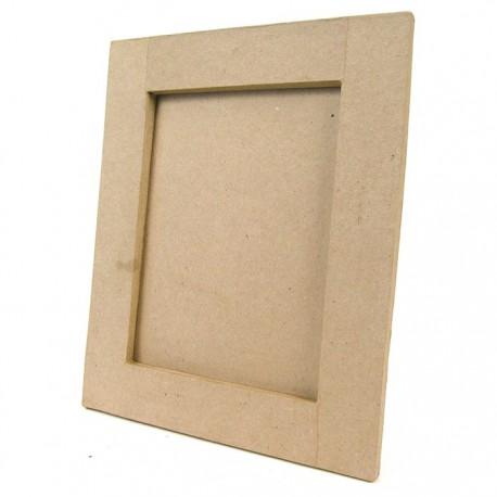 Рамка прямоугольная 23х28 Фигурка из папье-маше объемная