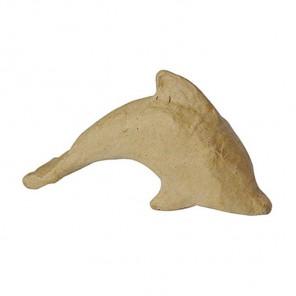 Дельфин 13x7x3,5 Фигурка из папье-маше объемная