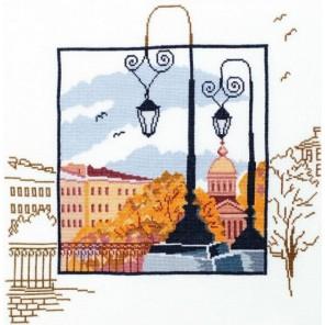 Петербургские зарисовки Набор для вышивания Овен
