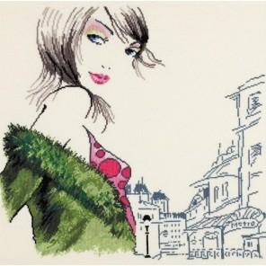 Парижанка №2 Набор для вышивания Овен