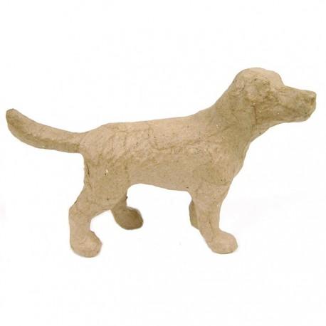Собака 14,5x9,5x4,5 Фигурка из папье-маше объемная