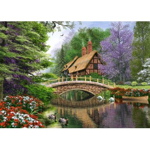 Дом у реки Пазлы Castorland C102365