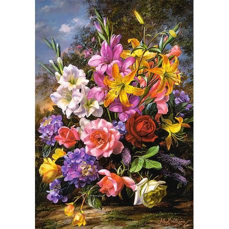 Ваза с цветами Пазлы Castorland C103607