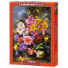 Внешний вид коробки Ваза с цветами Пазлы Castorland C103607