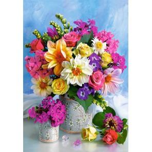 Букет цветов Пазлы Castorland