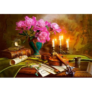 Натюрморт со скрипкой Пазлы Castorland