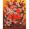 Пример готовой работы Букет с ромашками Алмазная вышивка (мозаика) Color Kit