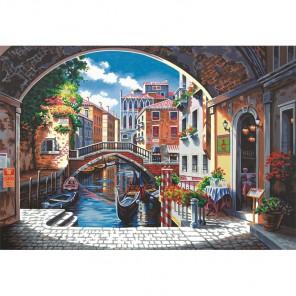 Арка в Венецию Раскраска (картина) по номерам Dimensions