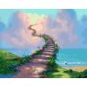 Лестница в небеса Раскраска картина по номерам на холсте ZX 20651