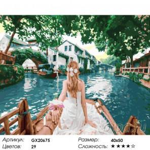 Количество цветов и сложность Китай. Следуй за мной Раскраска картина по номерам на холсте ZX 20675