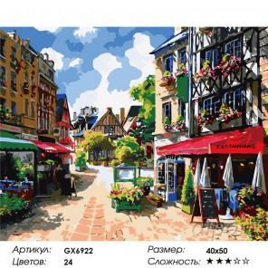 Сложность и количество красок  Солнечный день Раскраска по номерам на холсте GX6922