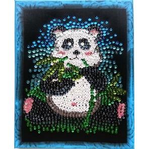 Панда Мозаика из пайеток Menglei