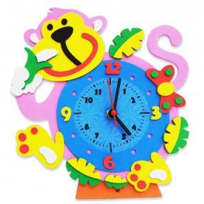 Обезьянка часы Набор для творчества из фоамирана Color Kit