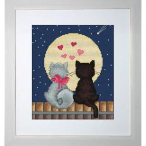 Котенок и Том Набор для вышивания Luca-S
