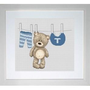 Медвежонок Бруно Набор для вышивания Luca-S